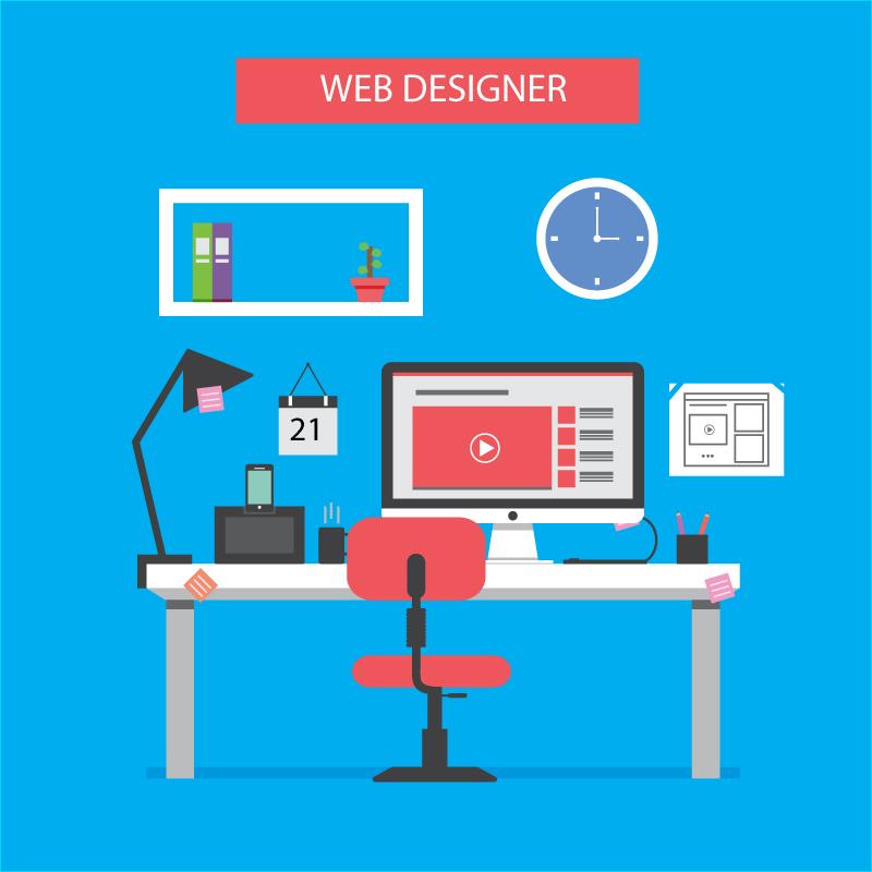 web designing like amazon