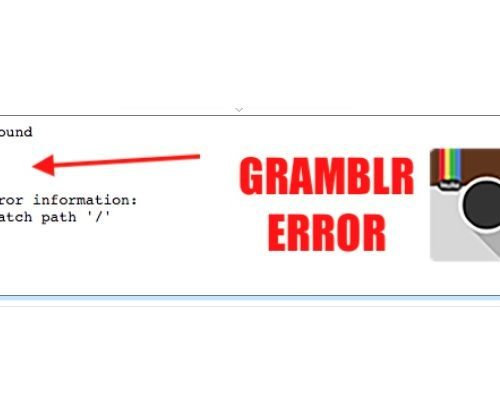 gramblr error